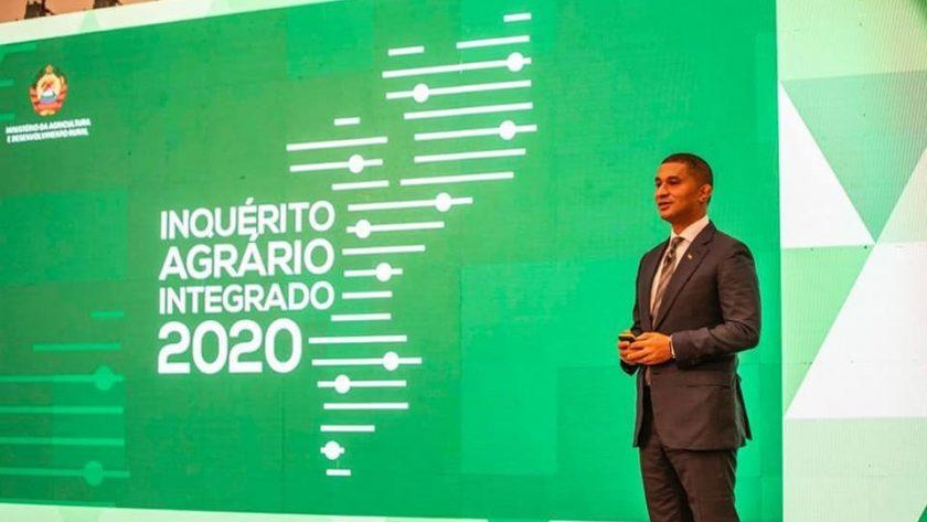 Foram hoje lançados os resultados do Inquérito Agrário Integrado 2020